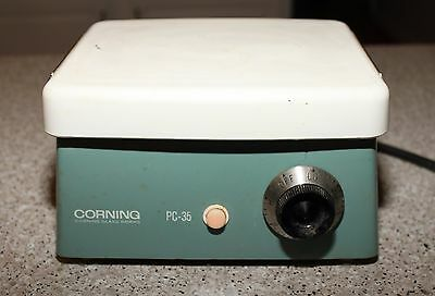 "Corning PC-35 Hot Plate 6 X 7 1/2""  AC, 600 Watts, 120 Volts"