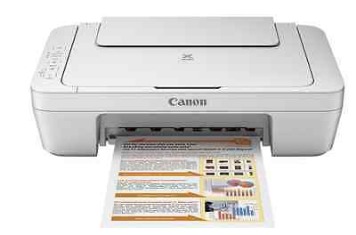 NEW Canon - PIXMA MG2520 All-In-One Printer - White ( Ink Not Included )