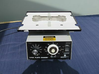 Barnstead Lab-Line 4625 Titer Plate Shaker w Holding Clamp Very nice