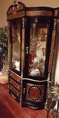 French Louis Boulle Dining Room Suite