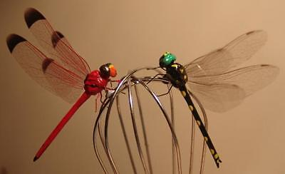 DragonFly Magnets - Set of 4 - Lifelike & Loads of Fun