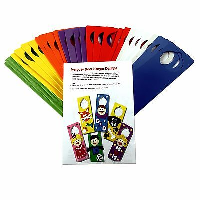 Creation Station Class Craft Foam Door Hangers with Ideas Leaflet Pack of 30