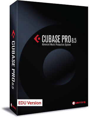 Steinberg Cubase Pro 8.5 EDU (NEW) Free to V. 9