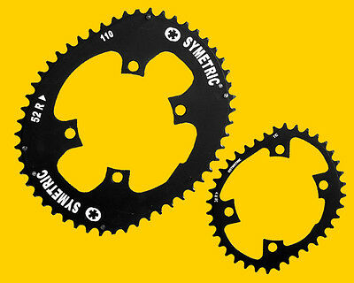 Osymetric Chainrings for Shimano Dura Ace 9000, Ultegra 6800 cranks, Road Racing