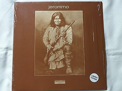 JERONIMO - Very Rare LP Vinyl Jeronimo - Numbered Ltd Ed To 1000 - Gatefold- NEW