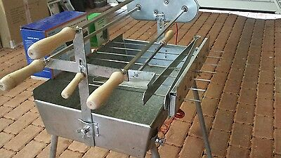 Mini Compact Bbq Spit Roast Rotisserie - Perfect For Camping!!ready To Go!!