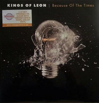 Kings Of Leon - 2 LP Vinyl Because Of The Times - Limited To 1000 - SEALED.