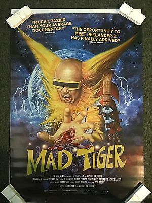Mad Tiger Theater Original Movie Poster One Sheet SS 27x40