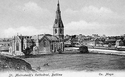 St. Muiredach's Cathedral Ballina Co. Mayo Ireland Lawrence Irish Postcard