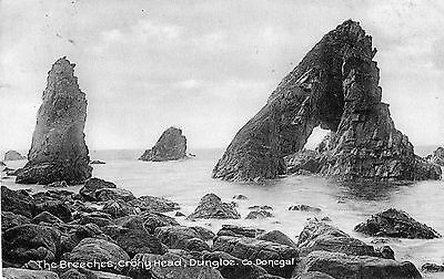 The Breeches Crohy Head Dungloe Co. Donegal Ireland Postcard Posted Dec 1915