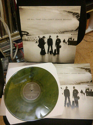 U2 LP All That You Can't Leave Behind + Booklet - Green Coloured Vinyl - NEW