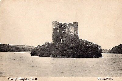 Clough Oughter Castle Cavan Ireland Vintage Irish Postcard;   O'leary Photo