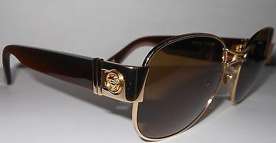 Versace Gianni Sunglasses and Case Mod S47 Col 030  Genuine VERY GOOD