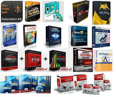 Commercial and Private Forex Autopilot EA Collection for all Trading Styles.