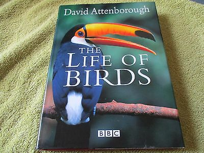 The Life of Birds by Sir David Attenborough SIGNED 1ST