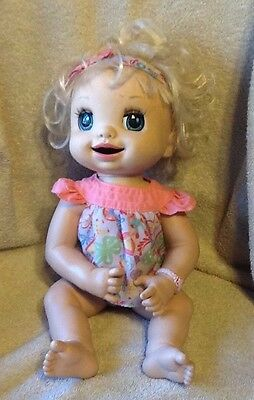 2007 Baby Alive Learn To Potty Hasbro Talking Interactive Soft Face