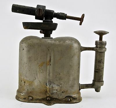 Vintage Unmarked Flat Tank Blow Torch