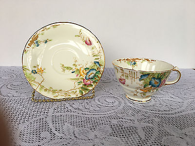 Sutherland China (England) Bone China  #2489 Tea Cup & Matching Saucer (218)