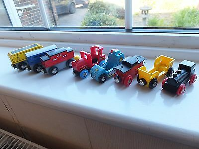 Brio Mixed Lot Of Rolling Stock +Un-Named