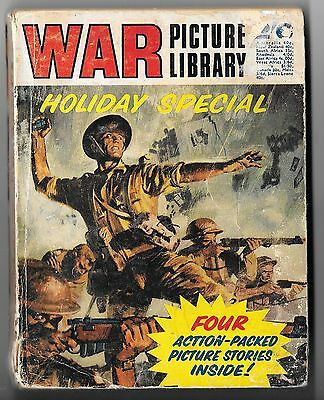War Picture Library Holiday Special (1973, 224 pages) mid-grade copy