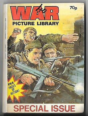 War Picture Library Special Issue (Ron Phillips 1980s? 196 pages) mid-high grade
