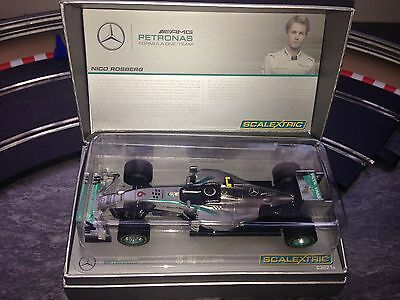 Scalextric Car Limited Edition AMG Petronas F1 Team Nico Rosberg  C3621a Boxed