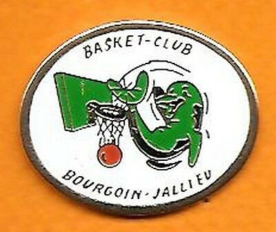pin's pins Basket Club Bourgoin Jallieu dauphin