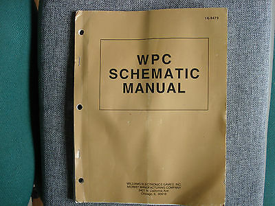 WPC Schematic Manual For Williams Pinball Machines