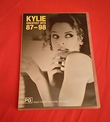 Kylie Minogue Greatest hits 87-98 DVD