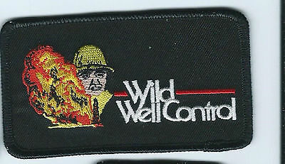 Wild Well Control oilfield patch 2-3/8 X 4-1/8 #1726