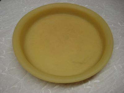 "Martha Sturdy yellow gold 15.5"" dia GRANVILLE PLATTER lightly used, never abused"