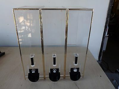 Coffee Bean Dispenser | Bulk Coffee Bean Dispenser Lot of 3