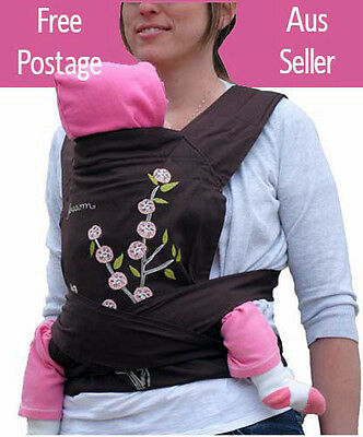 NEW Mei Tai Baby Infant Toddler 3-in-1 Carrier Sling Backpack, Blossom Design