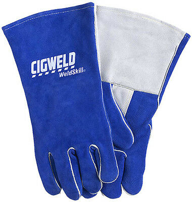 CIGWELD Heavy Duty Welding Gloves - Quality Leather & Kevlar Stitching, 646755