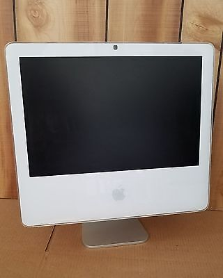 "Lot of 5 Apple iMac A1195 17"" Core 2 Duo 1.83GHz 1GB 160GB  MA710LL"