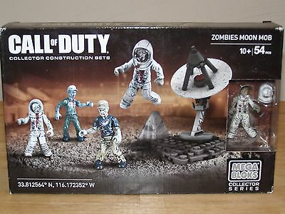 NEW Call of Duty Zombies Moon Mob Mega Bloks Collector Construction Set SEALED