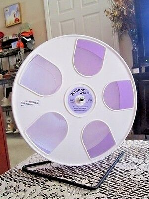 "Wodent Wheel Nail Trimmer-Exercise Combo 11"" (White/Lavender) Glider Shield"