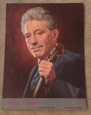 Violin Portrait of Fritz Kreisler