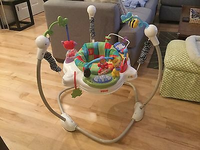 Fisher Price Luv U Zoo Jumperoo Baby Jumper  Bouncer Activity Seat