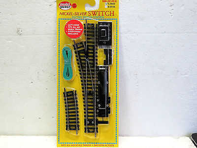 MODEL POWER LEFT SWITCH REMOTE NICKEL SILVER HO scale #5044 New in pack