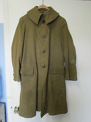 Wwi Named Us Wma Cadet Rotc Dress Uniform Overcoat