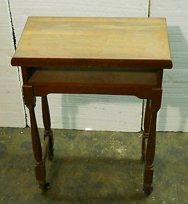 Wood Book Easel Stand Holder Antique Vintage Read Bible Dictionary Table Desk