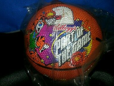 "1998  Kellogg's Cereal Mascots PROMO Basketball ""Part Of The Game"" Tony Tiger +3"