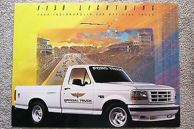 Poster ~ 1994 Ford F-150 ~ Indianapolis 500 Official Truck