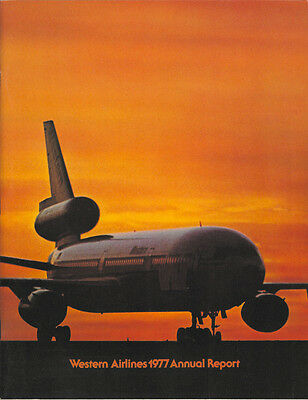 Western Airlines annual report 1977 [3052]
