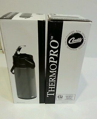 Two Curtis TLXA-22 Black Airpot 2.2L New