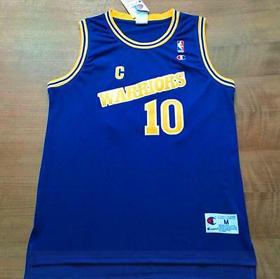 competitive price ab075 c3c62 NWT GOLDEN STATE Warriors Tim Hardaway blue retro Jersey size S M L XL XXL