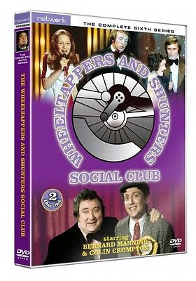 WHEELTAPPERS AND SHUNTERS SOCIAL CLUB the complete sixth series 6. New DVD