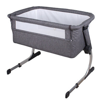 Childcare Cosy Time Co Sleeper Baby Bassinet Strom Cloud
