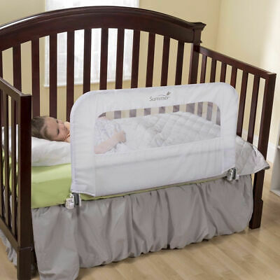 SummerInfant 2 in 1 Child Toddler Kid Convertible Crib Cot Safety Bed Rail guard